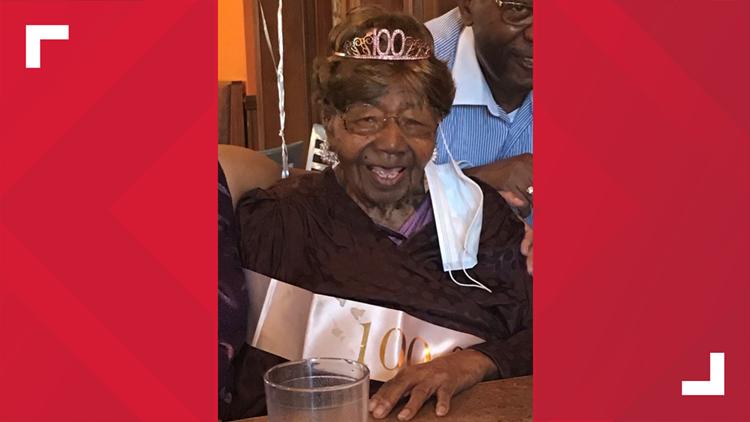 South Carolina woman celebrates 101st birthday
