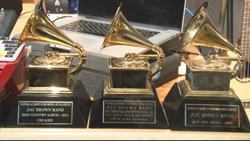 Complete list of winners from tonight's Grammy Awards (LIVE now on KHOU)