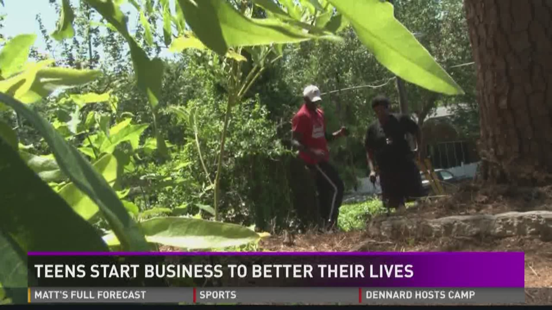 Brothers Start Landscaping Business To Turn Their Lives Around Khou Com