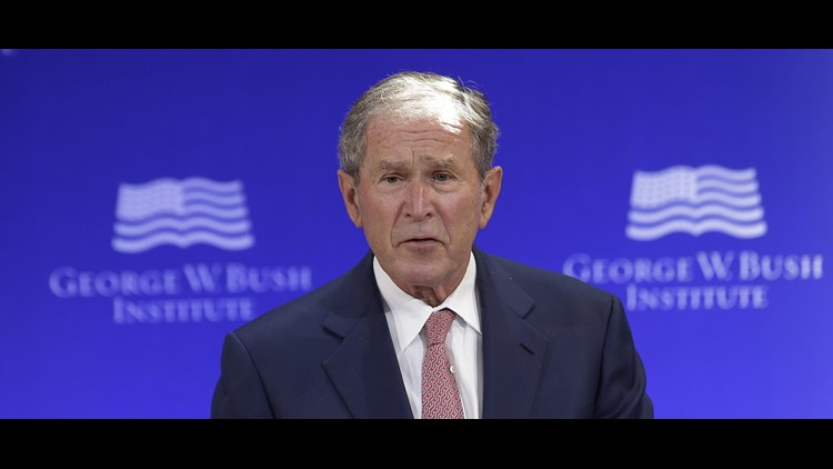 George W. Bush won't support Donald Trump's reelection, report says