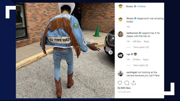 VIDEO: Kids go wild when Lil Nas X performs 'Old Town Road' at elementary School