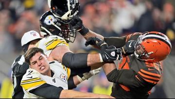 Myles Garrett suspended indefinitely for hitting Steelers QB with helmet