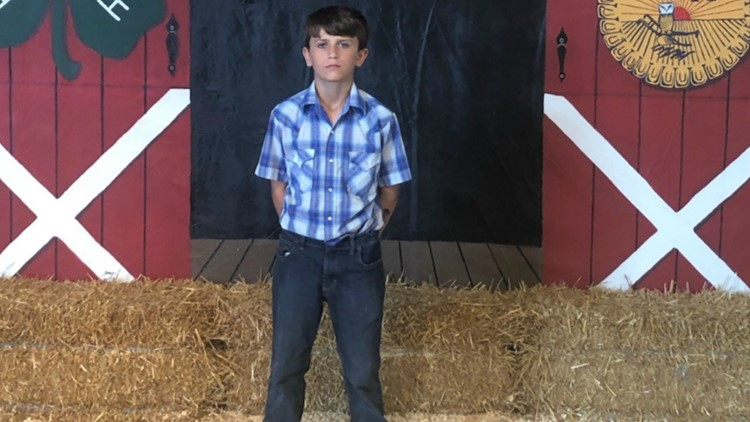 7th-grader donates fair livestock winnings of $15,000 to St. Jude