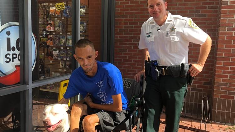 Man no longer homeless after choosing his dog over housing