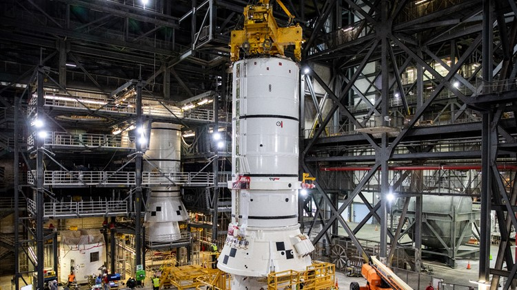 NASA Begins Building Rocket To Return Astronauts To The