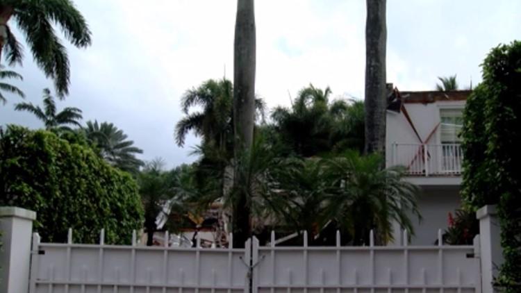 Demolition begins at Jeffrey Epstein's former Florida mansion