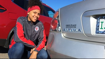 Student intentionally causes crash that may have saved a woman's life