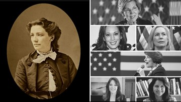 As a record-breaking number of women run for president, we remember the first who ran before women could even vote