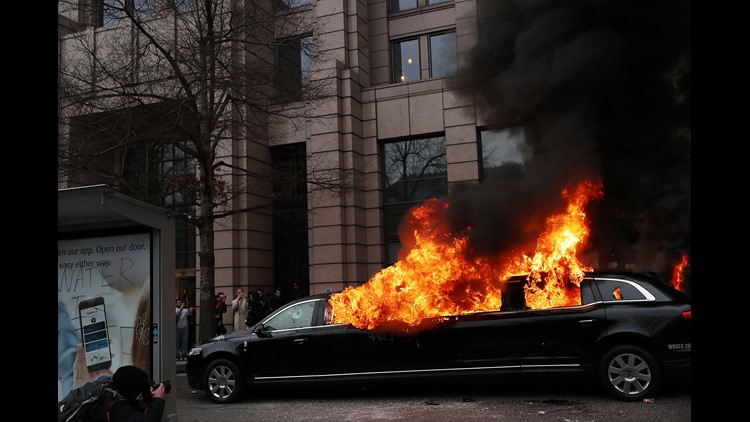Some Trump protesters to face rioting charges