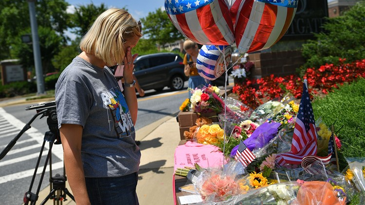 In Annapolis, a reporter's notebook filled with sorrow and hope