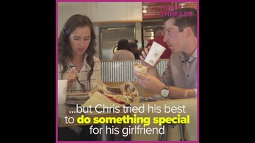 High school sweethearts get engaged at Chipotle after 12 years of dating