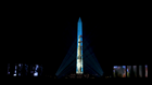 WATCH: Apollo 11 rocket and anniversary show projected on Washington Monument