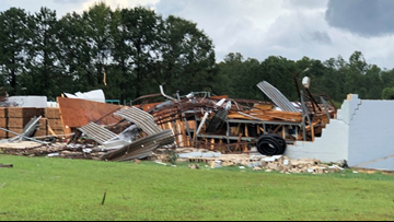 At least one dead after possible tornado hits Chesterfield County