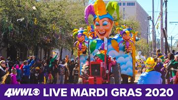 Watch Live: New Orleans celebrates Mardi Gras 2020