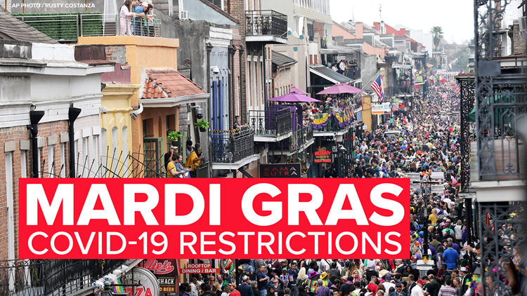 New Orleans to close bars completely next Friday through Mardi Gras