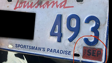 Unbelievable: Slidell driver pulled over with expired 1997 license plate