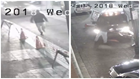 Disturbing video shows New Orleans taxi almost run down accused cellphone thief
