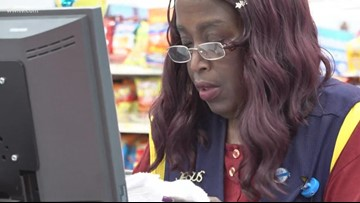 Slidell Walmart cashier walks 6 miles to work, says not having a vehicle 'no excuse'