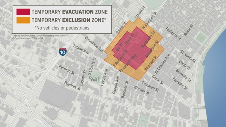 Evacuation zones expanded for Hard Rock crane demolition