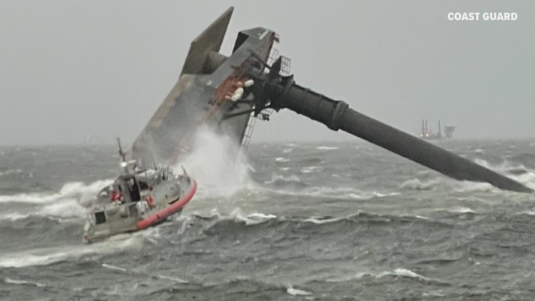 Coast Guard suspending search for 8 missing from capsized boat
