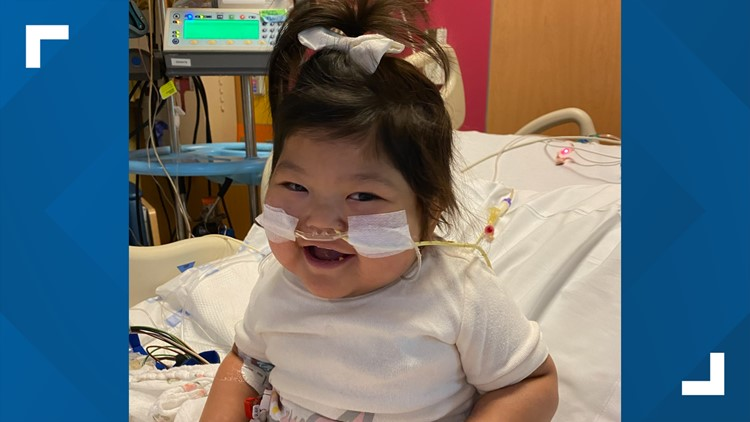 2-year-old gets new heart in Atlanta after being abandoned by biological parents in China