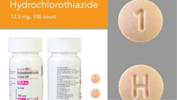Potentially life-threatening blood pressure prescription mix-up leads to recall