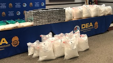Agents seize enough meth for 2.3 million individual doses in massive bust at Georgia home