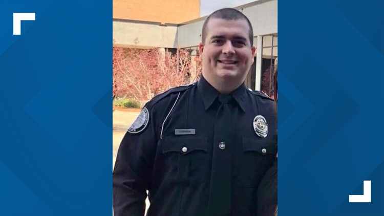 Georgia officer shot and killed was new father working first shift on the job; suspect still at large