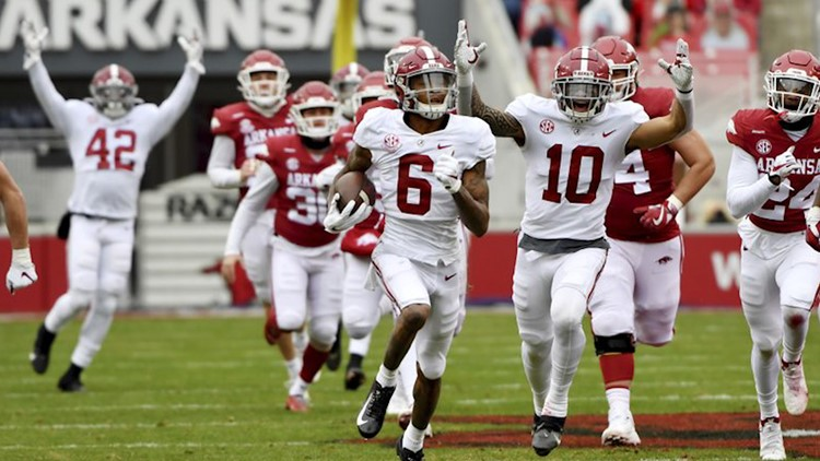Tide's DeVonta Smith first wide receiver to win AP Player of the Year